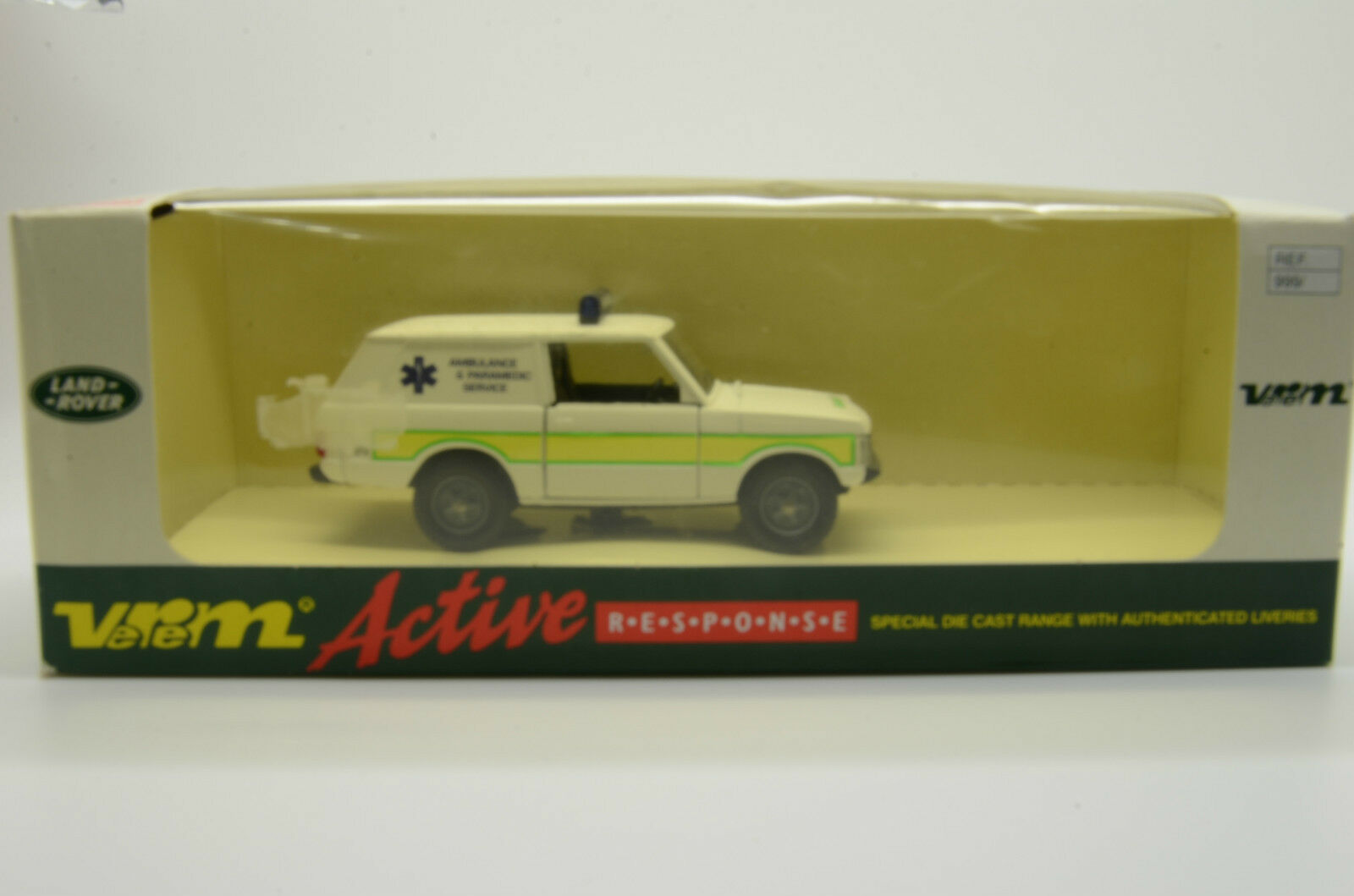 RARE    Range Rover Ambulance & Paramedic Service Jeep Verem Made in France
