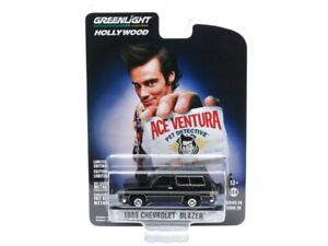 CHEVROLET Blazer - 1989 - Ace Ventura / Pet Detective - black - Greenlight 1:64