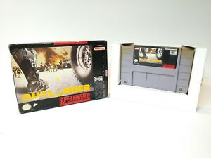 Outlander-Super-Nintendo-SNES-with-Box-GOOD-CONDITION-BOX-INSERT-amp-CART-ONLY