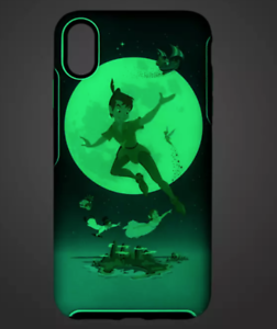 OTTERBOX-Disney-Park-Case-iPhone-XS-MAX-Peter-Pan-Tinker-Bell-Glows-in-the-Dark