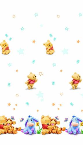 CHAMBRE D/'ENFANT RIDEAU Disney Winnie Pooh Winnie bébé Léviathans sur demande!!!