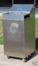 Stryker Surgical 301 Plaster Dispenser Stainless Steel Cart