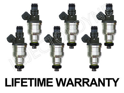Toyota 4Runner Pickup 89-95 22RE 2.4L 4-hole upgrade fuel injectors set w//video