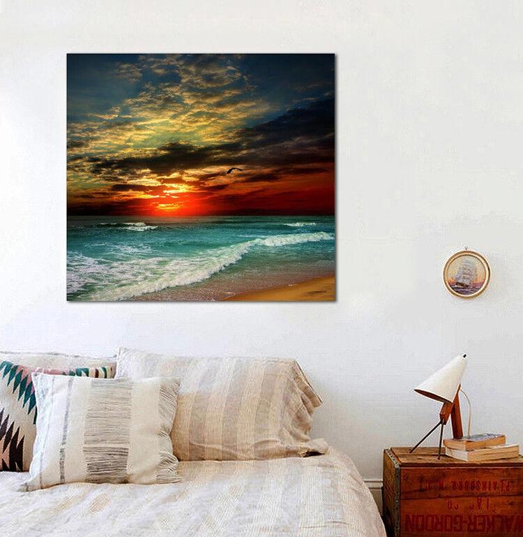 3D Sunrise Beach 465 Wall Stickers Vinyl Wall Murals Print AJ WALLPAPER CA Carly