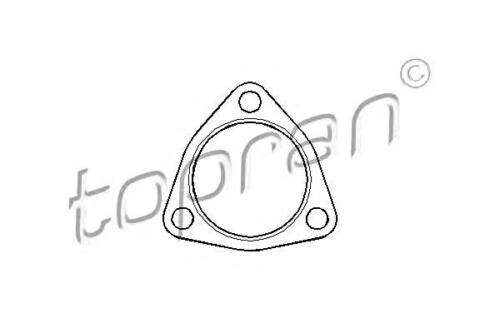 Seal Gasket for exhaust pipe Fits SEAT Altea Ibiza SKODA Fabia VW Polo 2001