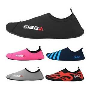 15f79ec48ac3 Mens Womens Water Sport Skin Shoes Aqua Socks Yoga Pool Beach ...