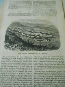 IngéNieux Nedroma Petite Ville De La Province D'oran Algérie Gravure Old Print 1860 Prix ModéRé