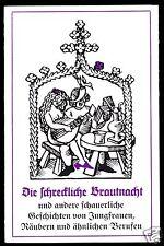 Theaterprogramm, Maxim Gorki Theater Berlin, Die schreckliche Brautnacht ...