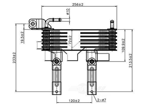 Auto Trans Oil Cooler TYC 19022 fits 05-10 Kia Sportage