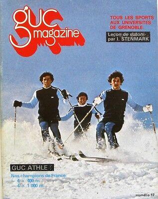 Rationeel Guc Magazine N°17 - 1980 - Sport U Grenoble - Leçon De Slalom Par I Stenmark Bespaar 50-70%