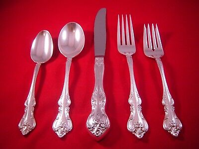 "INTERNATIONAL silverplate flatware COUNTESS pattern Dinner Fork 7 7//8/"" set of 4"