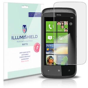 iLLumiShield-Matte-Screen-Protector-w-Anti-Glare-Print-3x-for-HTC-7-Mozart