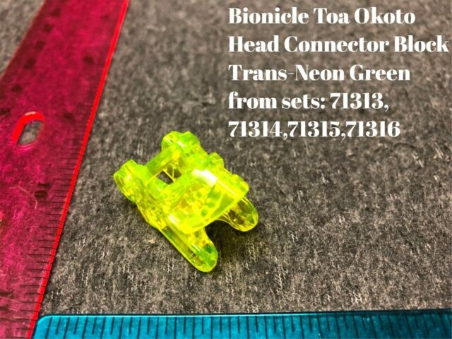 - Light-Up LEGO Piraka Bionicle Head Connector Block Eye//Brain Stalk