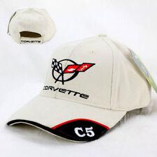 Khaki Unconstructed Corvette C5 Emblem and Script Hat//Cap 1997-2004 C5