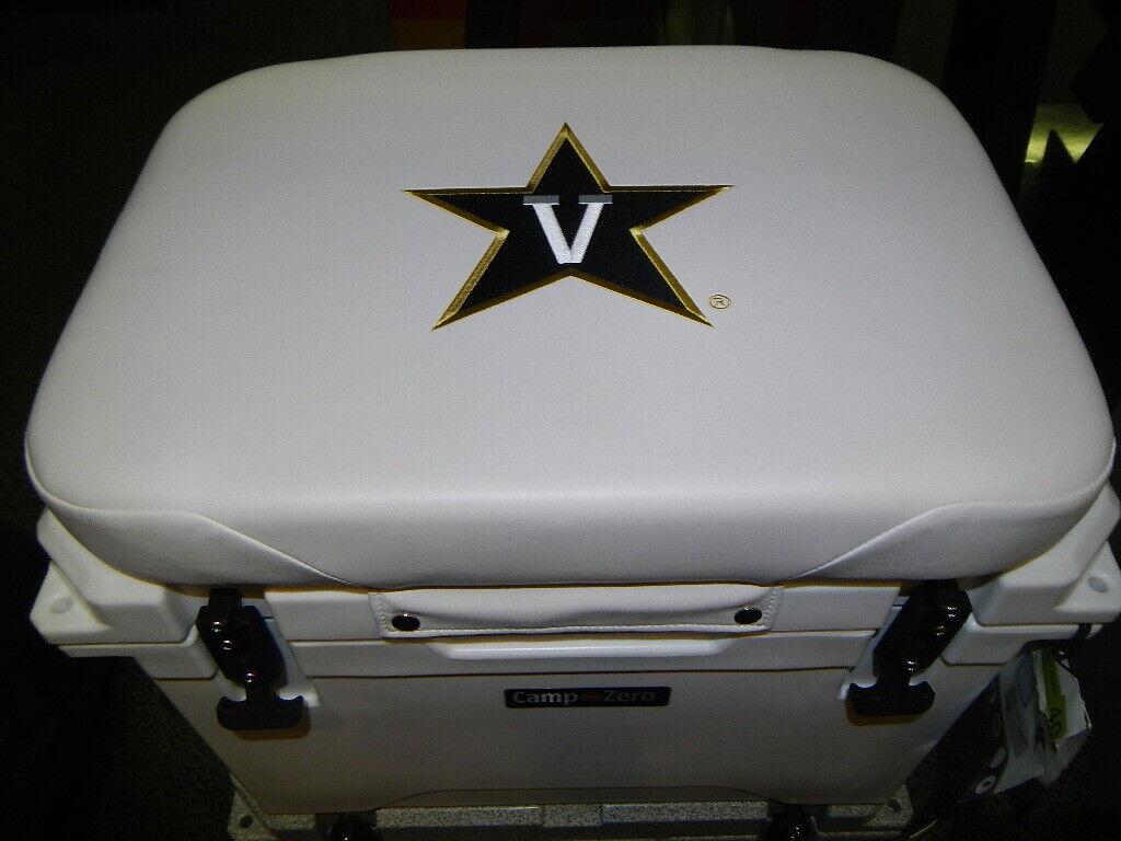 Yeti 35 qt & Others Cooler Cushion Weiß Vanderbilt NEW FREE SHIPPING