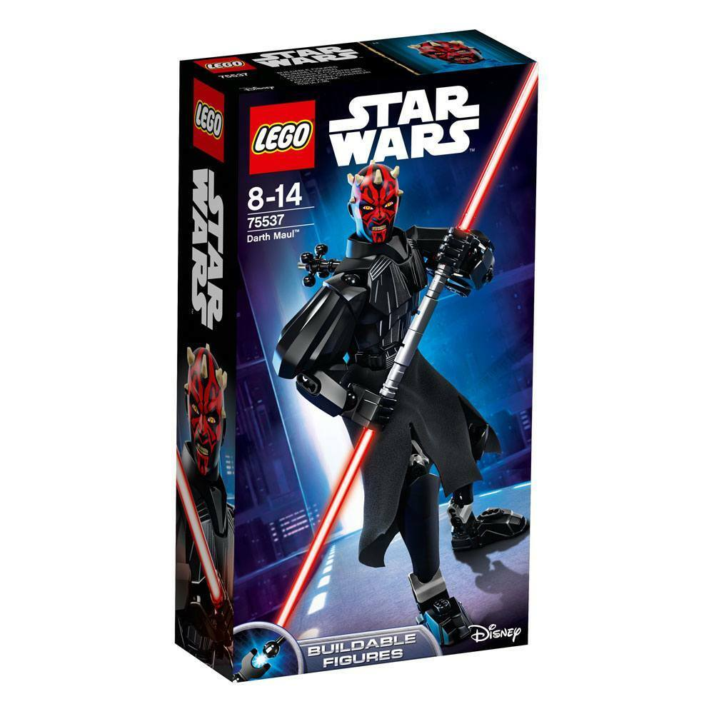 LEGO STAR WARS DARTH MAUL BUILDABLE FIGURE 75537