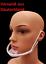 miniatura 2 - Gesichtsschild Face Shield Visier Mund Nasen Schutz Schutzvisier 1 Stück