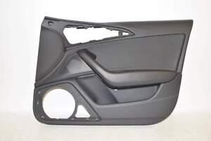 Audi-A6-4G-10-15-Tuer-Tuerverkleidung-Innen-VR-Vorne-Rechts-Kunstleder-schwarz