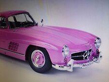 Premium Classixxs Mercedes 300SL Working Gull Wing Pink 1:12 *New Item!