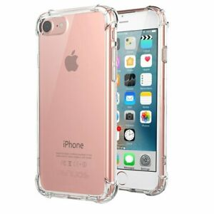 For-iPhone-6S-Case-Shock-Proof-Crystal-Clear-Soft-Silicone-Gel-Bumper-Cover-Slim