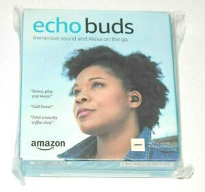 Amazon Echo Buds True Wireless In-Ear Headphones Black - BRAND NEW!!! 1ST GEN