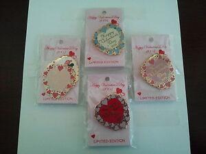 Disney-Valentine-Sweetheart-Pin-Set-WDW-Limited-Edition-Mickey-Minnie-Princess