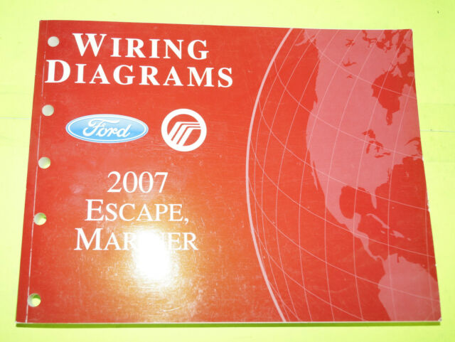 2007 Ford Escape Mercury Mariner Evtm Factory Wiring