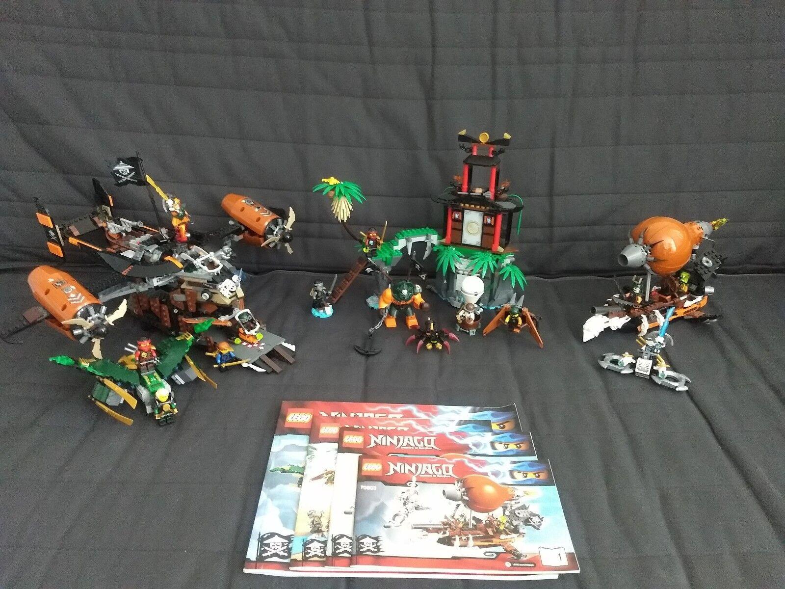 LEGO NINJAGO 70603, 70604, 70735 W/BOX