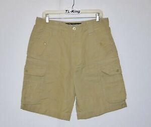 2010-Vintage-Play-Cloths-Cargo-Shorts-sz-32-USED
