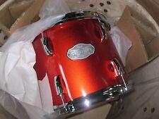 "New 3 PIECE Pearl Vision VX923 METALLIC ORANGE Drum Set 22"" Bass, 12Tom, 14Snare"