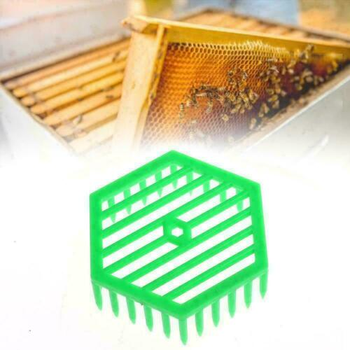 Kunststoff Bienenkönigin Marker Käfig Clips Bienensammler Imkerei W0K5 L1U2