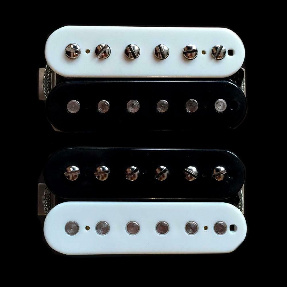 OX4 PAF Low-Wind Humbucker Pickup Set Zebra Bobbins