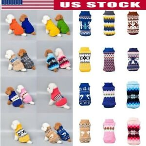 Small-Pet-Cat-Dog-Winter-Knitted-Jumper-Sweater-Warm-Coat-Jacket-Puppy-Clothes