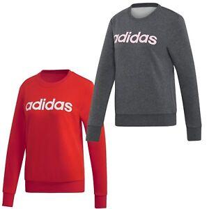 xxl Pullover Gris Femmes Rouge S Crewneck Adidas Sweater Sweatshirt zTx4PTR