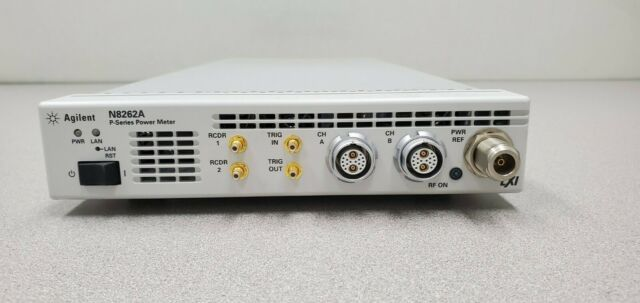 Agilent / Keysight N8262A P-series Power Meter LXI Compliant N1912a  Equivalent for sale online | eBay