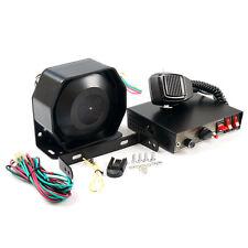 200W Auto Alarmanlage KFZ Schutz Police Fire Siren Horn MIC Sicherheitssysteme /