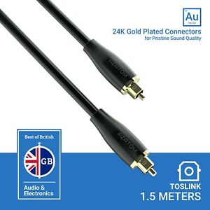 Azatom-Optical-Cable-Lead-24K-Gold-Plated-Digital-Audio-Toslink-Soundbar-1-5M