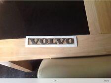 Volvo satin finish name badge