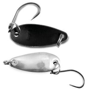 Nomura-Spoon-Akira-MIRROR-amp-Matt-Black-2-5-cm-2-00-G-trote-SPIGOLA-LUCCIO