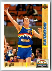 Joe Wolf 1991-92 Upper Deck #297 Denver Nuggets