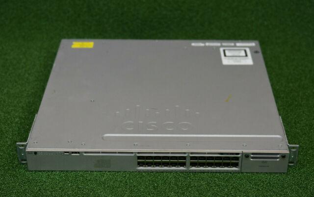 CISCO WS-C3850-24P-L Switch 24 x 10/100/1000 Ethernet PoE+ ports - 1 YrWty