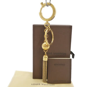 66dd7c72531a Details about Auth LOUIS VUITTON Porte Cles Swing Bag Charm Key Ring Holder  M65997  S208015