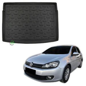 Tailored-Boot-tray-liner-car-mat-Heavy-Duty-for-VW-GOLF-6-mk6-HTB-2008-2014