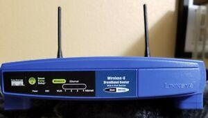 Details about Linksys Wireless-G WRT54G Broadband WiFi Router 2 4 GHz - w/  power cord