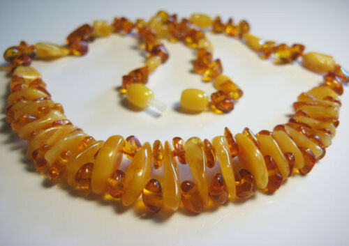 GENUINE BALTIC AMBER collier 16 g!!!