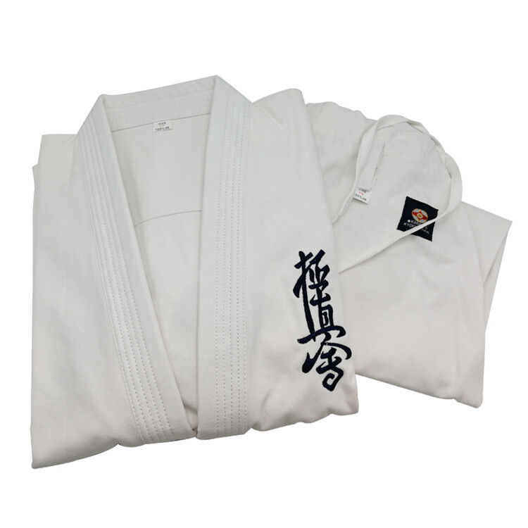 Kyokushinkai dogi Dobok kimono Gi 100% Cotton Canvas Karate  Kyokushin Uniform  save up to 50%