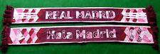 Original Schal REAL MADRID Adidas + NEU +100 % Acryl + HALA MADRID + ROSA 3RD +