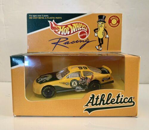 NEW 1999 HotWheels Oakland Athletics A/'s NASCAR Racing Car Special Editition SGA