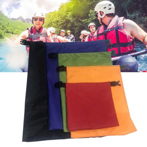 5Set Dry Bags Pouch Rafting Boating Kayaking Camping Hiking Waterproof Sack NEW