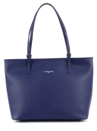 Adᄄᄄle Fonce Schultertasche Pelle Tasche Lancaster Bᄄᄍrotasche Bleu Blau Shopper 4R3L5jA